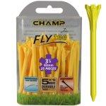 "Champ Zarma FLYTee - 3.25"" Yellow Golf Tees 25 pack"