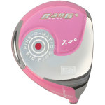 Bang Golf Pink-O-Matic 401 Beta Titanium Driver Head Pink