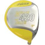 Custom-Built Bang Golf Mellow Yellow 420cc Beta Titanium Driver