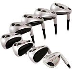 Powerbilt Golf EX-550 Hybrid Iron Set 4-SW Men's Graphite