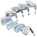 Powerbilt Golf EX-550 Hybrid Iron Set 4-SW Women's Graphite