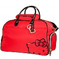 Hello Kitty Diva Duffle Bag - Red