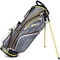 Sahara Gobi Golf Stand Bag Gray/White/Yellow