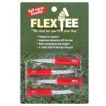 "FlexTee 3"" Flexible Golf Tees - Pack of 4"