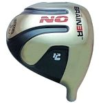 Custom-Built Geek Golf No Brainer Titanium Driver Grey