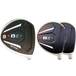 Built Heater B-2 Titanium Driver + 2 x Fairway Woods