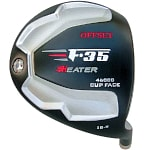 Custom-Built Heater F-35 Cup Face Offset Black Titanium Driver RH