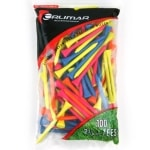 Orlimar 2 3/4-Inch Florescent Golf Tees 100-Pack - Multi-Color