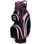 "RJ Sports Kingston 9.5"" Cart Bag - Pink"