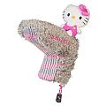"Hello Kitty Golf ""Mix & Match"" Putter Headcover Grey/Pink"