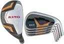 King XH-2 Hybrid / Iron Combo Set (8 Heads)