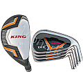 Custom-Built King XH-2 Hybrid / Iron Combo Set (8 Clubs)