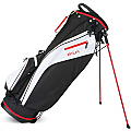 Sahara Baja Lite Golf Stand Bag Black/White/Red