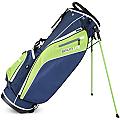 Sahara Baja Lite Golf Stand Bag Blue/Lime/White
