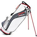Sahara Baja Lite Golf Stand Bag White/Gray/Red