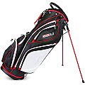 Sahara Gobi Golf Stand Bag Black/White/Red