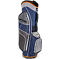 Sahara Baja Lite Golf Cart Bag Navy/Gray/Orange