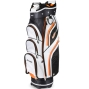 Sahara Gobi Golf Cart Bag White/Black/Orange