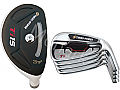Turbo Power TiS Hybrid / Iron Combo Set (8 Heads)