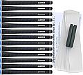 Lamkin UTx Wrap Black Midsize - 13pc Grip Kit