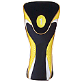 Yellow-Black Driver Head Cover