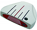 Custom-Built Heater 5.0 White Mallet Putter RH