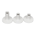 Rubber Tees White - Pack of 3