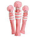 Pink Sock Headcover 3-pc Set