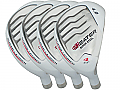 Built Heater White Hybrid 4-Club Graphite Set