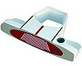 Heater IV White Putter Head