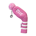 "Hello Kitty Golf ""Mix & Match"" Iron Headcovers Pink"