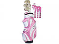 Hello Kitty Golf Ladies Complete Set - Pink/White