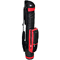 "RJ Sports 6"" Sunday Bag Red"
