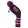 "Hello Kitty Golf ""Mix & Match"" Iron Headcovers Black"