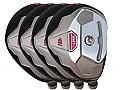 Built Heater BMT2 Hybrid 4-Club Steel Set