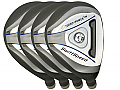 Built Turbo Power SwiftSpeed Hybrid 4-Club Graphite Set