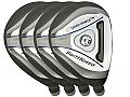 Built Turbo Power SwiftSpeed Hybrid 4-Club Steel Set