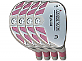 Built iDrive Pink Hybrid 4-Club Graphite Set