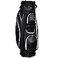 """RJ Sports Venice 9"""" Cart Bag - Black"""