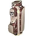 "RJ Sports Laci 9"" Ladies Cart Bag - Chocolate"