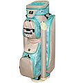 "RJ Sports Laci 9"" Ladies Cart Bag - Tiffany"