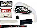 Tour Model Heater 3.0 White Iron Component Kit RH