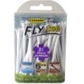 "Champ Zarma FLYTee - 3.25"" White Golf Tees 25 pack"