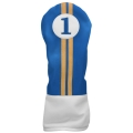 Sahara Retro Golf Headcover Blue/Yellow/White - Driver