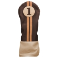Sahara Retro Golf Headcover Brown/Beige - Driver