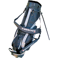 Integra Golf Stand Bag Black/Silver