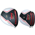 Built Turbo Power Fire Plus Titanium Driver + 2 x Fairway Woods