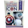 Captain America 75 Golf Balls - 6 Balls