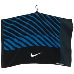 Nike Face/Club Jacquard Towel (Black/White/Military Blue)