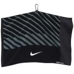 Nike Face/Club Jacquard Towel - Black/Grey